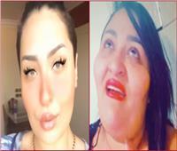 وصول «شيري هانم» وابنتها «زمردة» للمحكمة