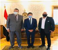 وزير الرياضة يستقبل رئيس الاتحاد المصري للجودو لتشكيل الجهاز الفني الجديد