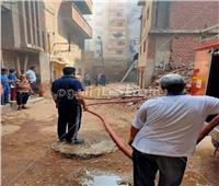 حريق بسوبر ماركت شهير في الغربية