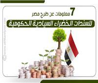 إنفوجراف| 7 معلومات عن طرح مصر لـ«السندات الخضراء»