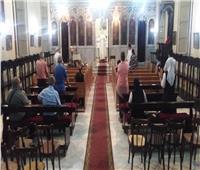 كنيسة سيدة البشارة بطنطا تحتفل بالقديسة تريزا
