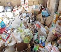 ضبط 6 أطنان سلع غذائية فاسدة بكفر الشيخ
