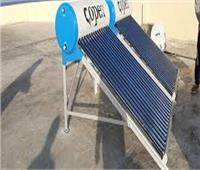 تركيب وحدة تحلية المياه بالخلايا الشمسية بمدينة براني بمطروح