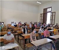 حجازي يتابع تدريب طلاب الثانوية العامة على أجهزة التابلت