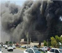 فيديو|حريق ضخم يلتهم سوقا في بوشهر الإيرانية المطلة على الخليج