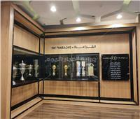 صور  شاهد محتويات المتحف المصغر لاتحاد الكرة