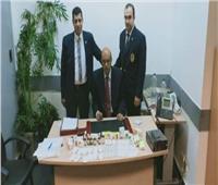 ضبطنمساوي حاول تهريب ترامادول بمطار القاهرة