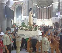 المفوض العام للرهبنة الكرملية بمصر يترأس عيد القديسة تريزا