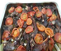 طبق اليوم.. «صينية الريش بالخضراوات»