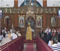 بطريرك الكاثوليك يزور كاتدرائية السيدة العذراء بقويسنا
