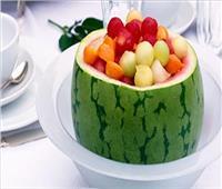 حلو اليوم| طريقة عمل.. «سلطة البطيخ بالفواكه»