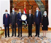السيسي يؤكد دعم مصر لجهود الجامعة العربية لدعم مسيرة التنمية
