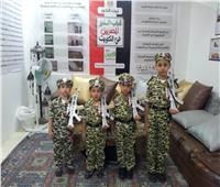 بارتداء الملابس العسكرية| أطفال المصريين بالكويت يحتفلون بذكرى نصر أكتوبر