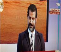 فيديو| محمود حافظ بعد تكريمه من الرئيس السيسي: «تحيا مصر»