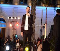 صور| بحضور فنانين ورياضيين.. وائل جسار يتألق في حفل غنائي بالقاهرة