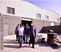«محافظ أسيوط» يتفقد أعمال تنفيذ مجمع الصناعات الصغيرة والمتوسطة