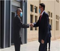 رئيس وكالة الفضاء وسفير كازاخستان يبحثان التعاون التكنولوجي