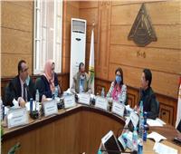 مجلس صندوق البحوث العلمية بجامعة بنها يعقد اجتماعه الدوري
