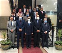 «محافظ الغربية» وممثلى «9 دول عربية» فى «جامعة طنطا»