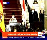 وزير الخارجية: مصر وإسبانيا حلفاء في القضاء على الإرهاب