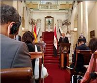 وزيرة خارجية إسبانيا تشيد بجهود مصر في مجال تمكين المرأة