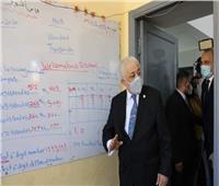 صور  وزير التعليم يحضر حصصًا مدرسية بأحمد زويل الرسمية