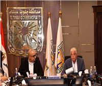 وزير الإسكان ومحافظ جنوب سيناء يتابعان المشروعات المشتركة
