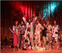صور | افتتاح العرض المسرحي «ريسايكل» بمسرح الطليعة