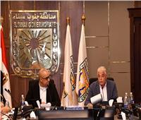 وزير الإسكان ومحافظ جنوب سيناء يتفقدان تشغيل محطة تحلية نبق