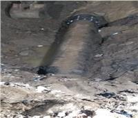 مياه القليوبية: إصلاح خط طرد محطة منطقة البقوشي بالخصوص