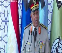 فيديو| رئيس هيئة تدريب القوات المسلحة يعلن نتيجة التخرج للكليات العسكرية