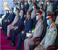 بث مباشر| كلمة الرئيس السيسي في حفل تخريج دفعات جديدة من «الكليات العسكرية»