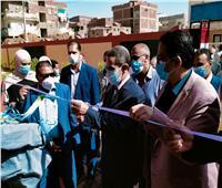 محافظ الغربية يفتتح مدرسة نشيل بقطور