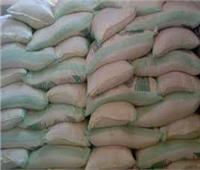 ضبط 3 طن أرز أبيض ومكرونة مجهولة المصدر