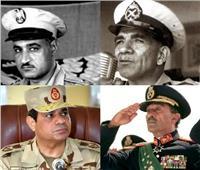 أبرزهم «السادات» و«السيسي».. خريجو الكليات العسكرية بقائمة شرف الزعماء