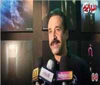 فيديو| كريم عبدالعزيز يكشف حقيقة إصابته في «كيرة والجن»