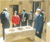 صور | وفد رسمي بجنوب السودان يزور مجمع الأديان في مصر القديمة