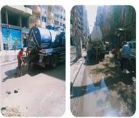 حملة مكبرة لرفع الإشغالات في حي الهرم