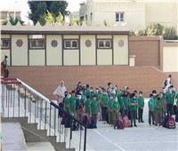 رئيس حي عين شمس يؤكد على الإجراءات الاحترازية بالمدارس