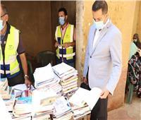 استكمال أعمال القافلة التنموية بمساكن عشش السودان بحي الدقي