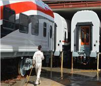 صور| وصول دفعة جديدة من عربات ركاب القطارات الروسية