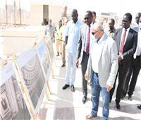الري تنظم زيارة ميدانية للوزير الجنوب سوداني إلى العاصمة الإدارية