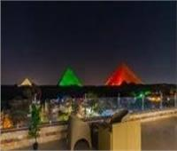 بدء توافد الأفواج السياحية على اول مطعم بمنطقة الأهرامات الأثرية