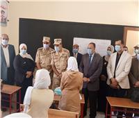 محافظة أسيوط والمنطقة الجنوبية العسكرية يفتتحان مدرسة نزلة باخوم الابتدائية