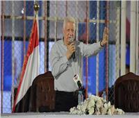 مرتضى منصور: متفائل بمواجهة الأهلي في نهائي دوري الأبطال