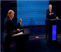 المناظرة الأخيرة بين ترامب وبايدن في صور