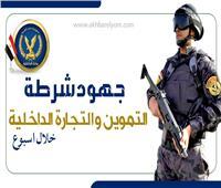 أنفوجراف |جهود شرطة التموين للقضاء على جرائم الفساد