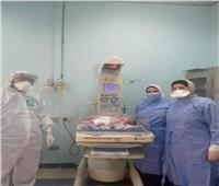 مريضة بـ«كورونا» تضع توأماً داخل مستشفى العزل بالإسكندرية
