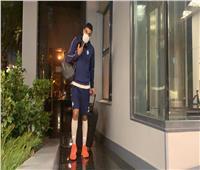 بعثة بيراميدز تصل فندق إقامتها بالرباط استعدادا لنهائي الكونفدرالية