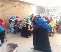 سيدات أسيوط يتصدرن المشهد في لجان انتخابات النواب بأسيوط